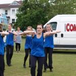 Burgess Hill Fayre 2015 Children Dancing 13