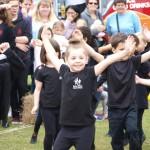 Burgess Hill Fayre 2015 Children Dancing 17