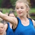 Burgess Hill Fayre 2015 Children Dancing 2