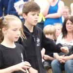 Burgess Hill Fayre 2015 Children Dancing 37